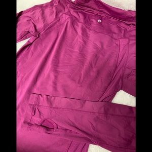 LuluLemon Athletics pullover run brisk long sleeve